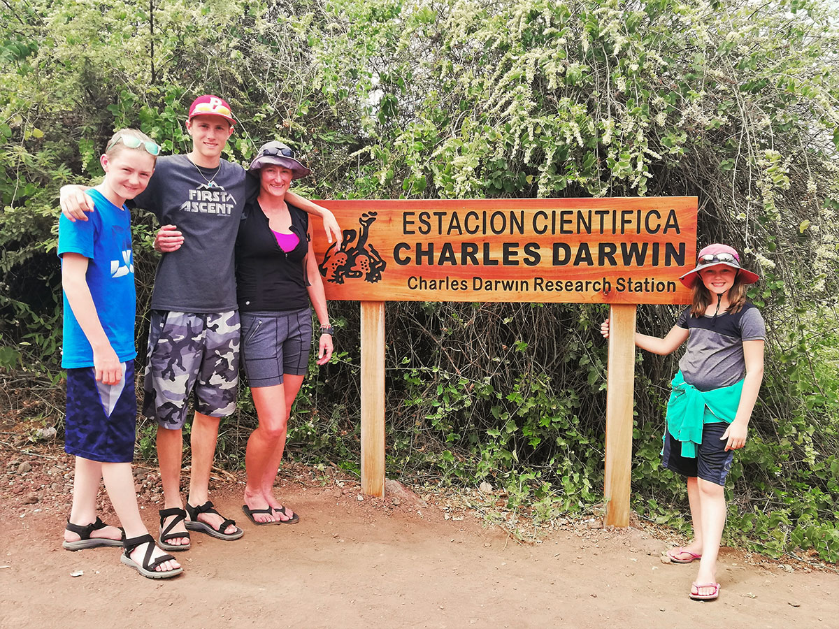 Charles Darwin Research Station on guided Galapagos Adventure Tour in Galapagos Islands