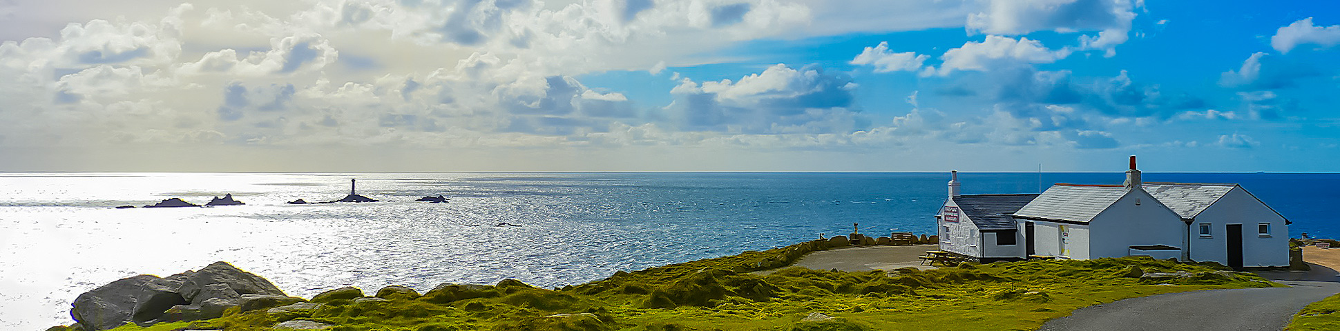 Panoramic view from Lizard Peninsula Self-Guided Walking Tour