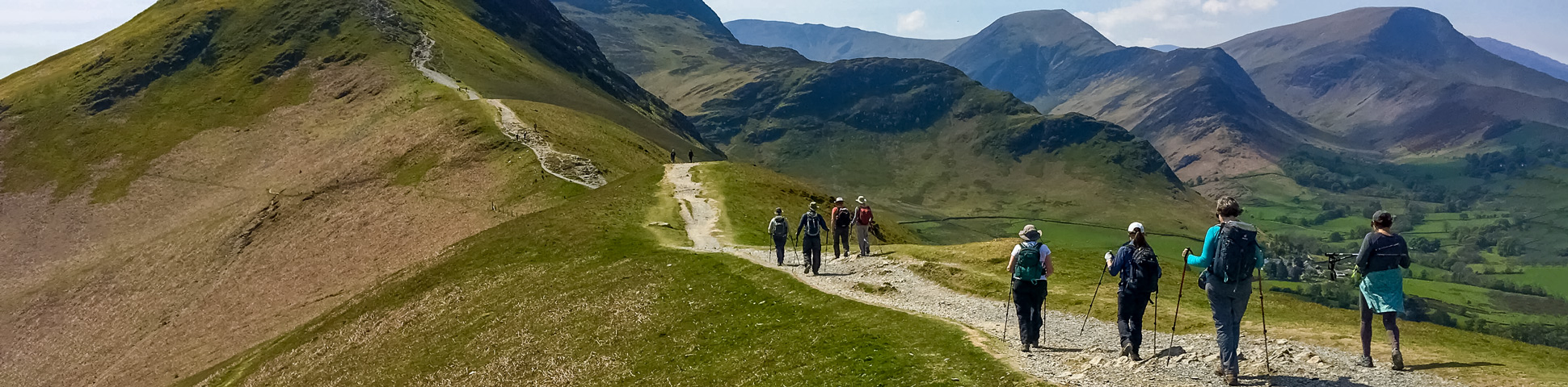 Panoramic view from National Parks of the UK Walking Tour