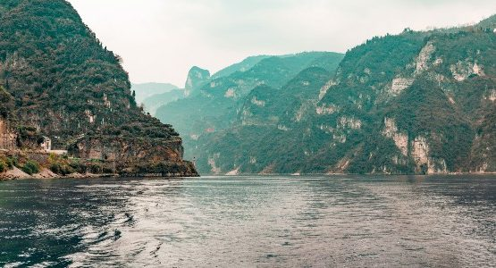 Yangtze River at China