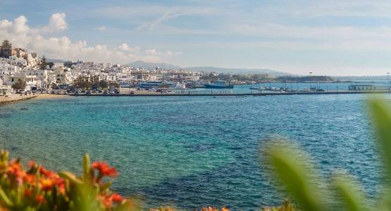 Panoramic view from Greek Islands Multisport (Paros, Naxos, Santorini) Tour