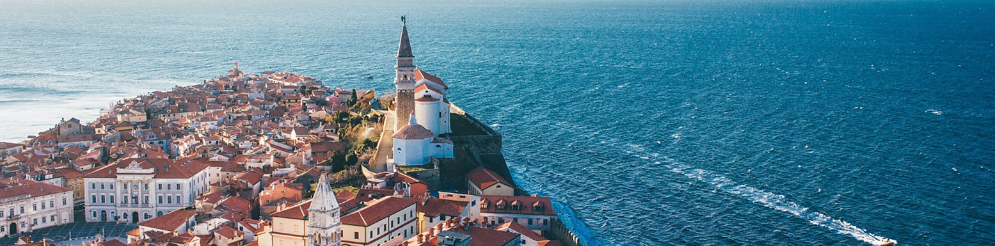 Adriatic Sea in Slovenia