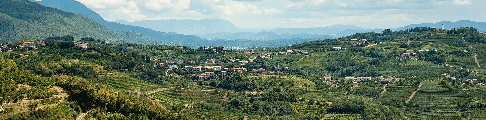Gorska Brda in Slovenia