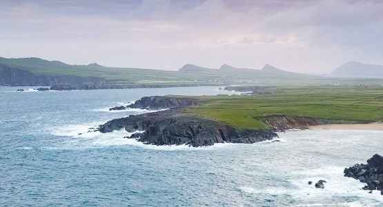 Panoramic views from Kerry Peninsulas Biking Tour