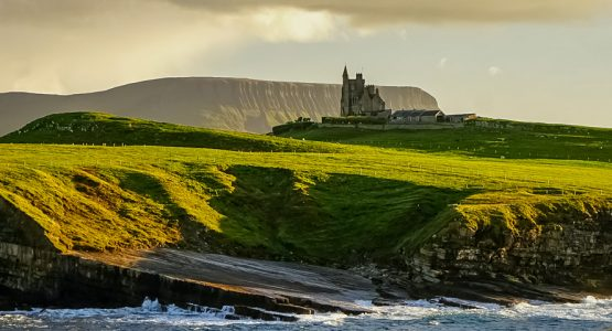 Panoramic views from The Causeway Coastal Route and Donegal Tour