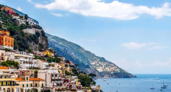 Panoramic view seen on Amalfi Coast and Capri Walking Tour