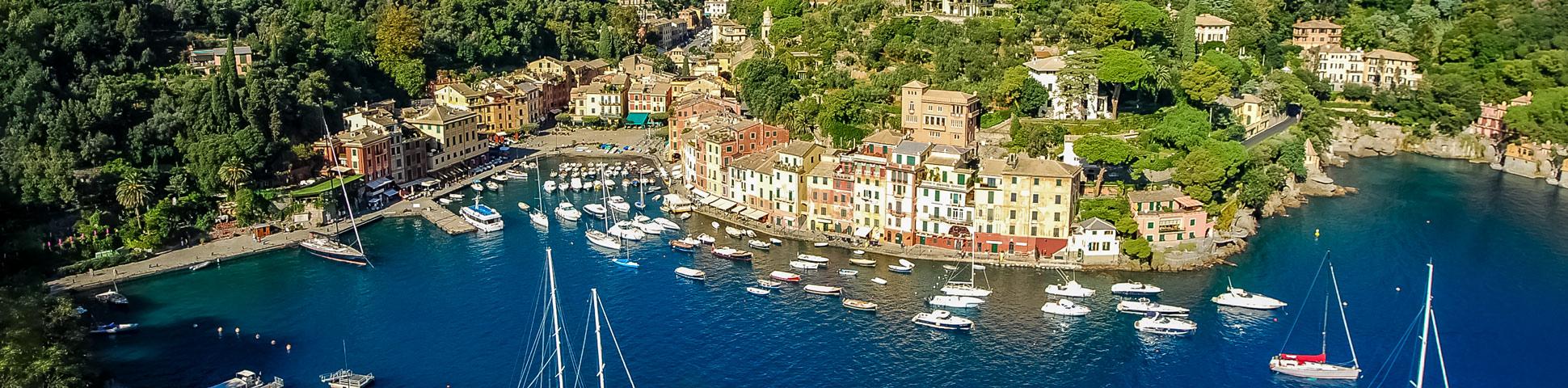 Panoramic views from Cinque Terre Portofino to Porte Venere Trek