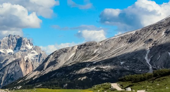 Panoramic views from Dolomites Self-Guided Hiking Tour