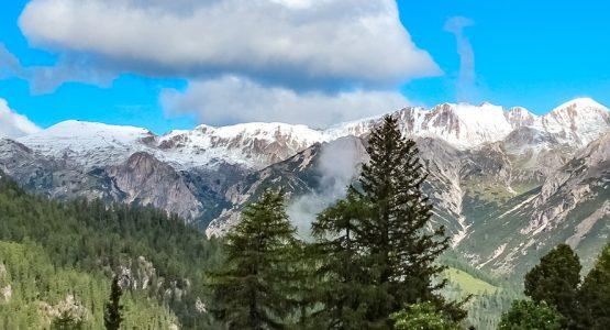Panoramic view from Dolomites Walking Tour in Alto Adige Tour