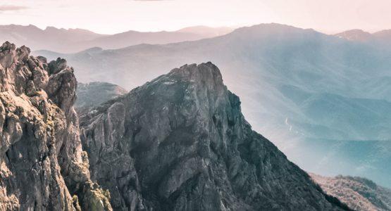 Panoramic view from Hiking in Sardinia Tour