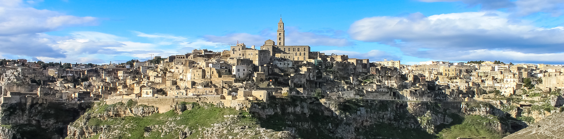 Panoramic views from Hiking in Southern Italy