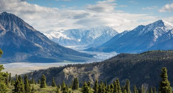 Kluane in Yukon (Canada)
