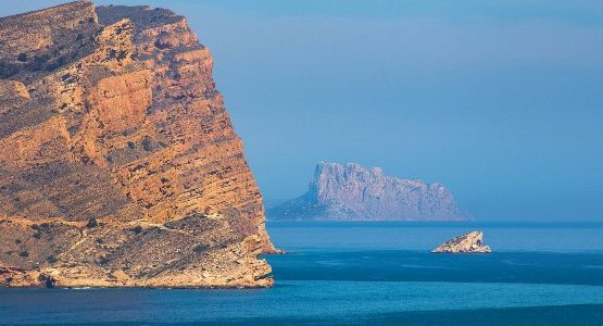 Rocky shores at Southern Spain