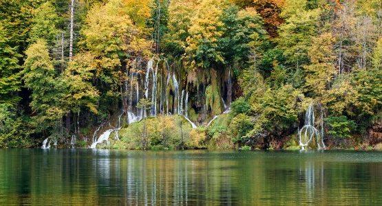 Waterfalls at Plitvice