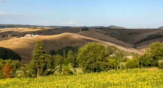 Panoramic views on Tuscany Cycling from Pisa to Florence 5-Day Tour