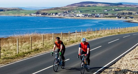 Panoramic views on Arran, Islay, and Jura Road Cycling Tour