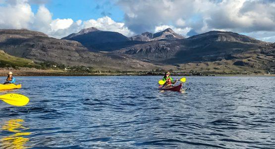 Panoramic views from The Scottish Highlands Sea Kayaking Tour