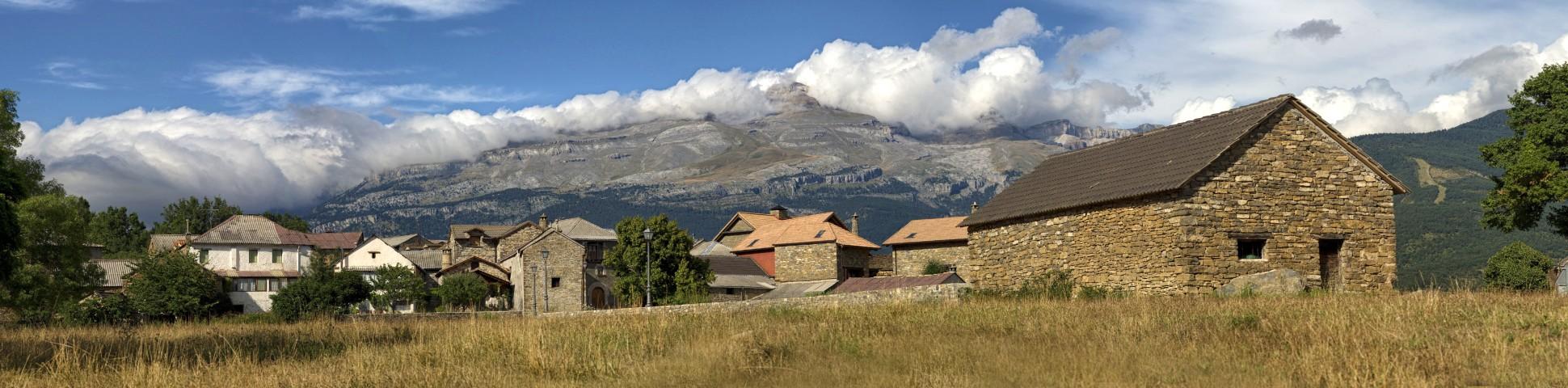 Aragon region in Spain