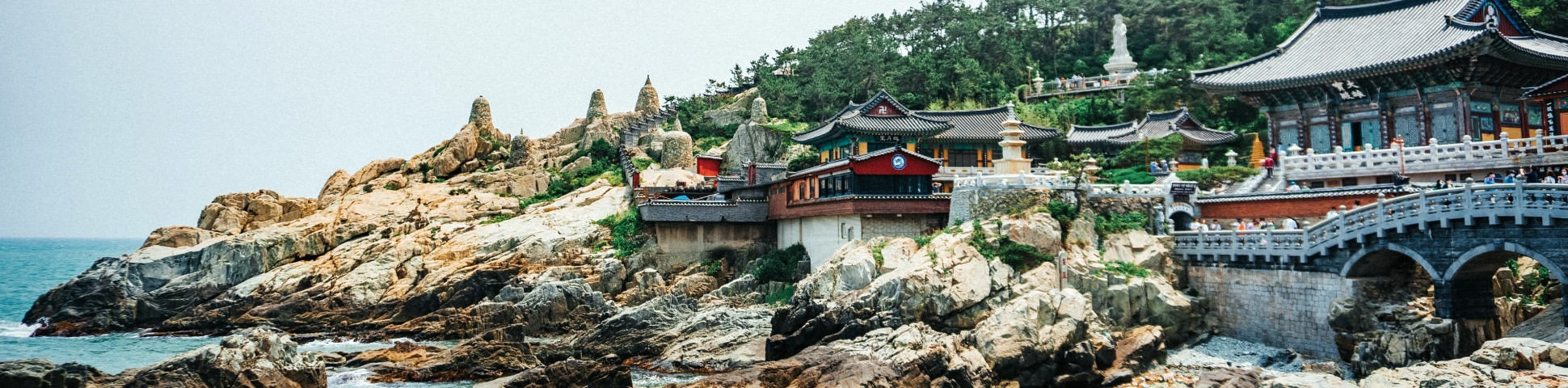 Beautiful shore in South Korea