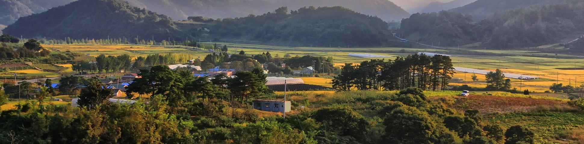 Chungcheongbuk-do region in South Korea