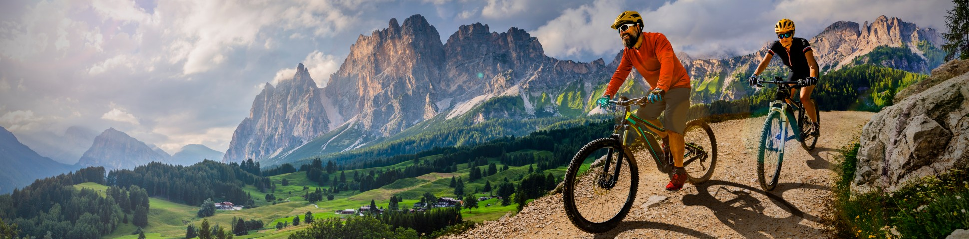 Ebike riding in Italy