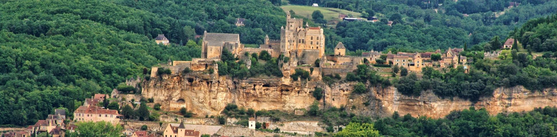 Old fort in Dordogne (France)