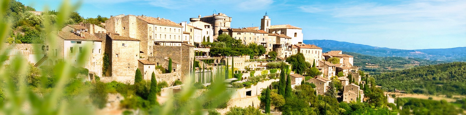 Provence region in France