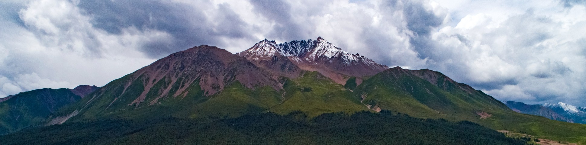 Panoramic view from Qinghai