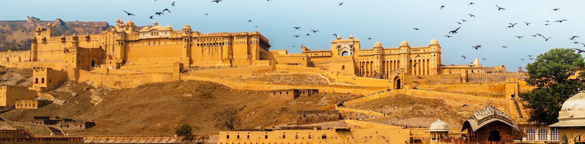 Beautiful buildings in Rajasthan