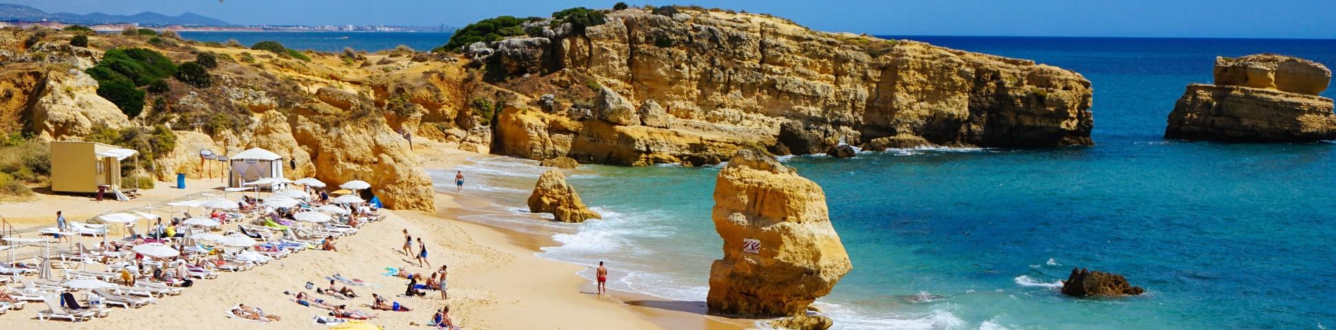 Beautiful coast of Southern Portugal
