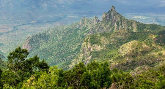 Mountains in Tamil Nadu (India)