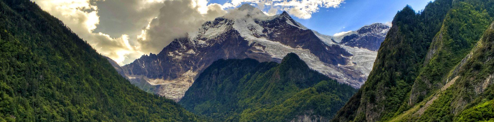 Panoramic view from Yunnan