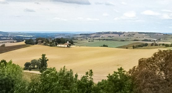 Panoramic views from Cycling the Last Week of the Camino Frances Tour