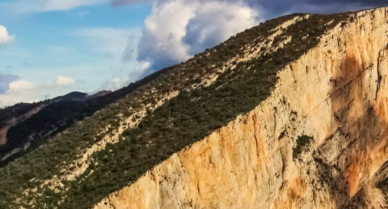 Panoramic view from Multipitch Climbing Workshop in Aragon