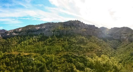 Panoramic views of Rock Climbing in Catalonia