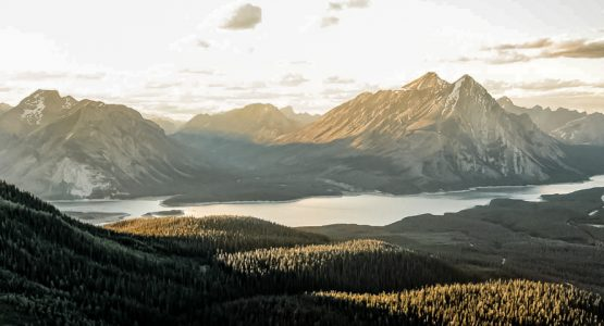 Panoramic views from 7-Day Rocky Mountain Adventure Tour