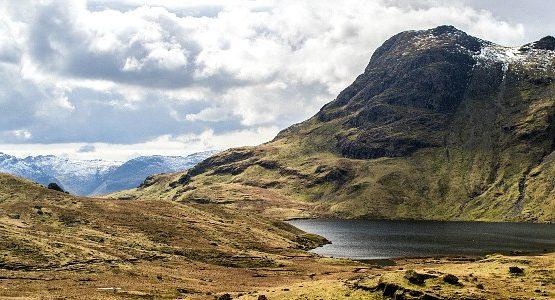 Beautiful lake at Lake District