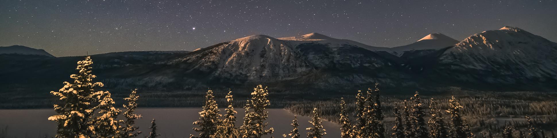 Panoramic view from Alaska and Yukon Adventure Tour