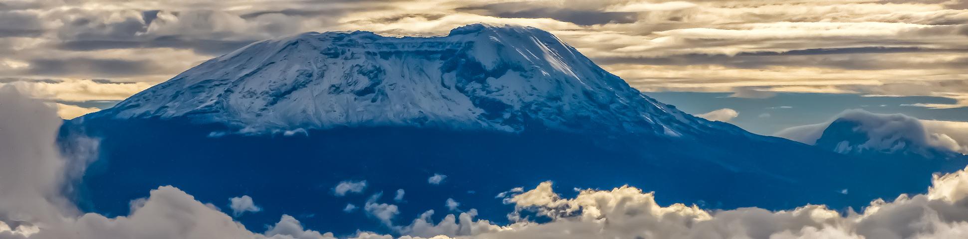 Panoramic views from Bike Tour Around Mount Kilimanjaro