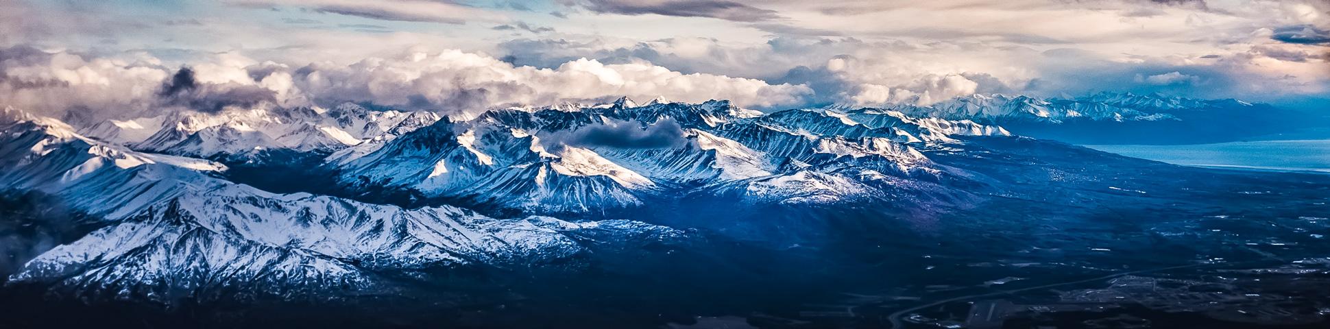 Panoramic view from Alaska's Kenai Peninsula Hiking Tour