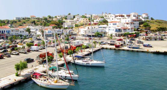 Andros Island (Cyclades, Greece)