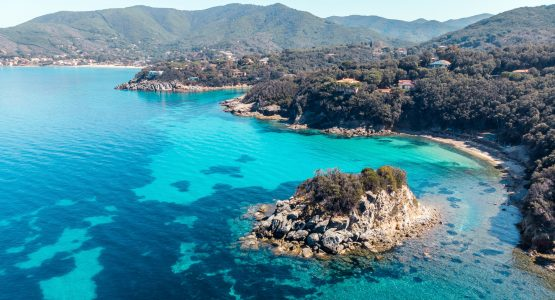 Elba Island views from the above
