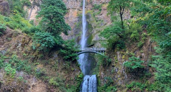 Waterfall at Columbia River Gorge