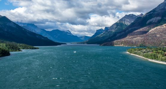Waterton Lakes in Alberta, Canada
