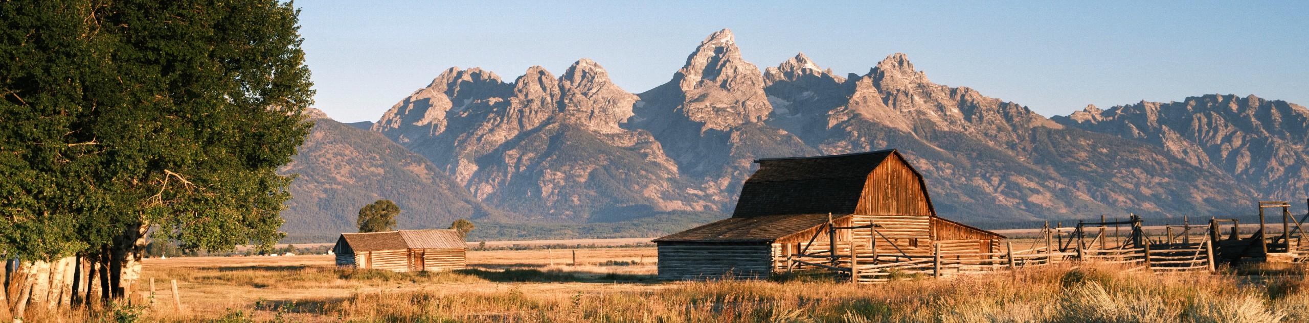 Barn in Grand Teton National Park, Wyoming