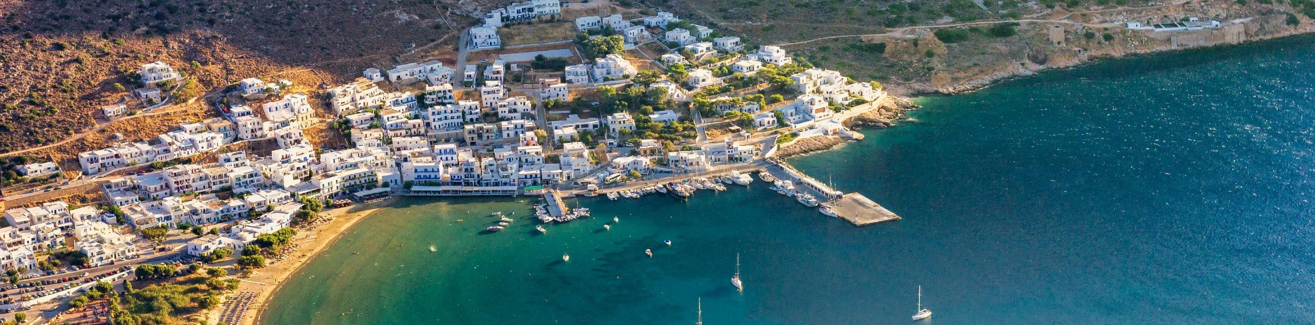 Beautiful village in Sifnos Island (Greece)