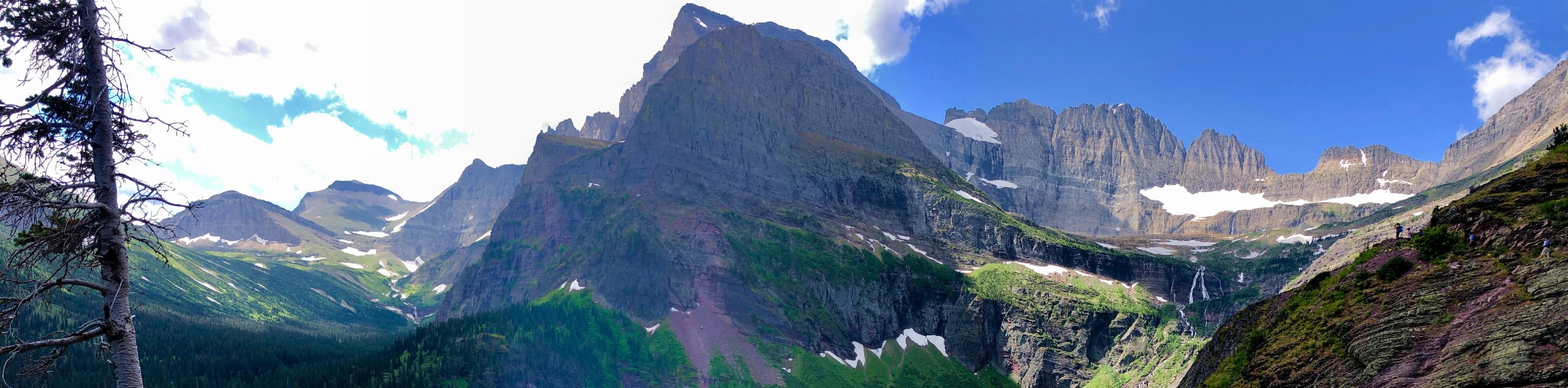 Ginnell Glacier trail in Glacier National Park