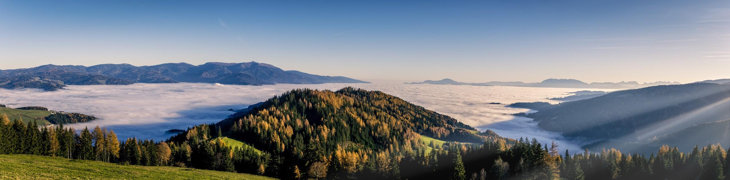 Mountain views in Carinthia (Austria)