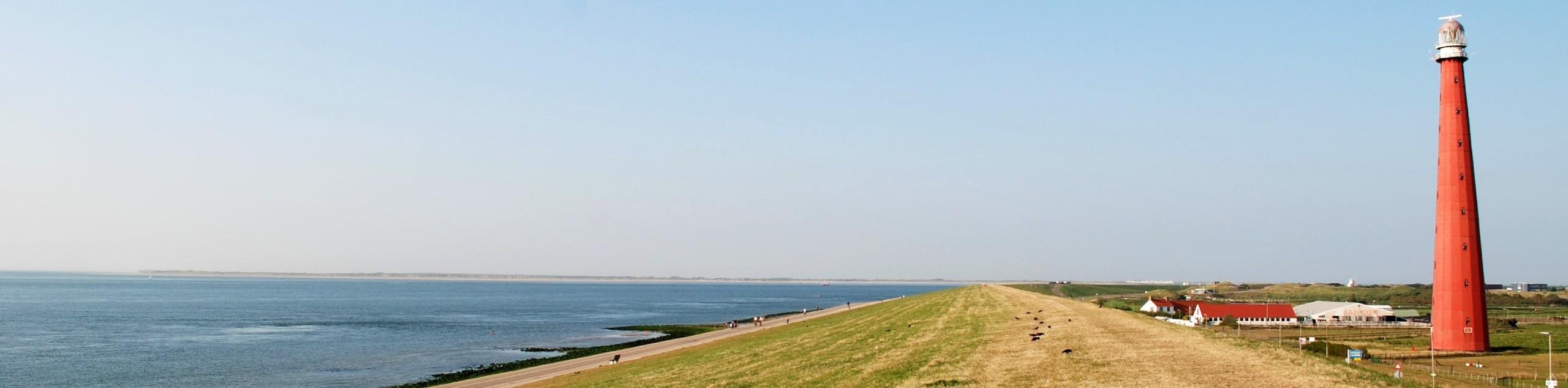 Shoreline at North Holland, Netherlands
