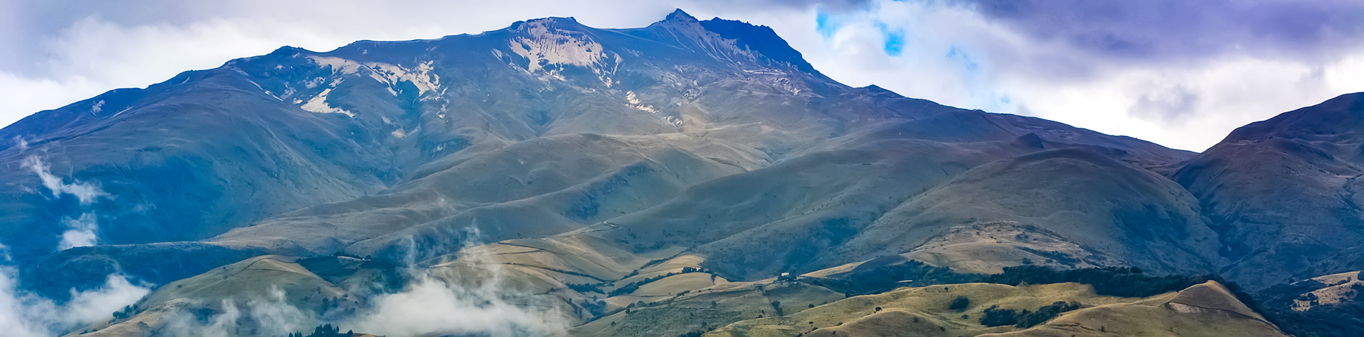 Panoramic views from Cross Country Cycling in Ecuadorian Andes Tour